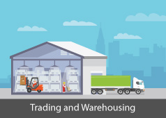 Trading and warehousing